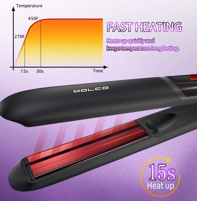 Infrared Hair Straightening Mold (Black)