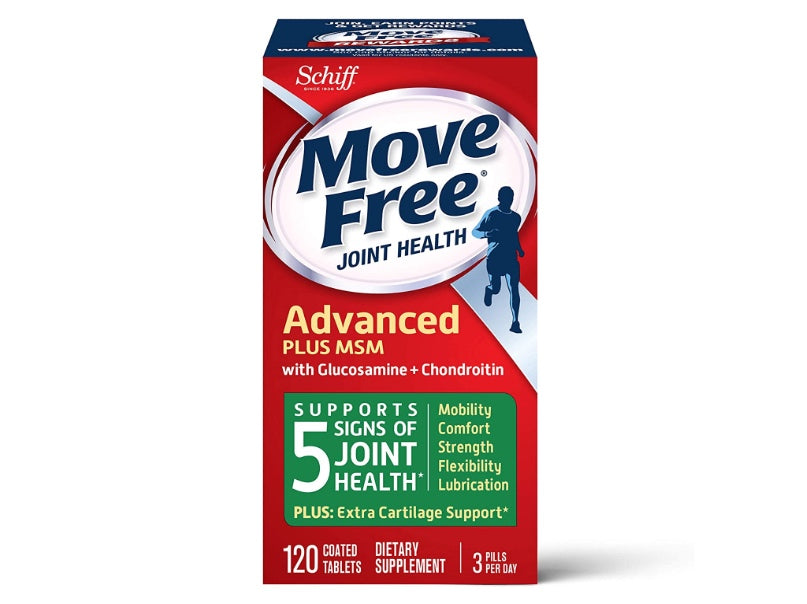 Move Free Joint Supplement 120 Count (Green)