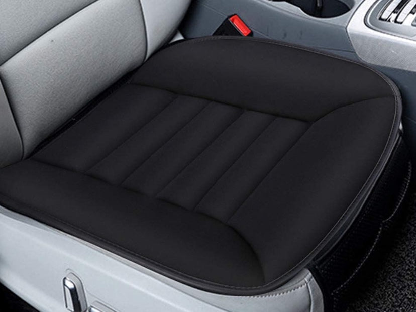 Car Seat Cushion Memory Foam (Black)