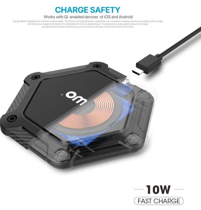 Wireless Charger for Qi Enabled Devices