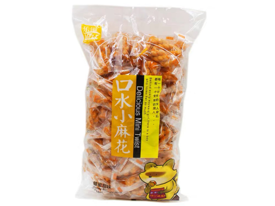 Mini Crisp Twist Honey Flavor 500g
