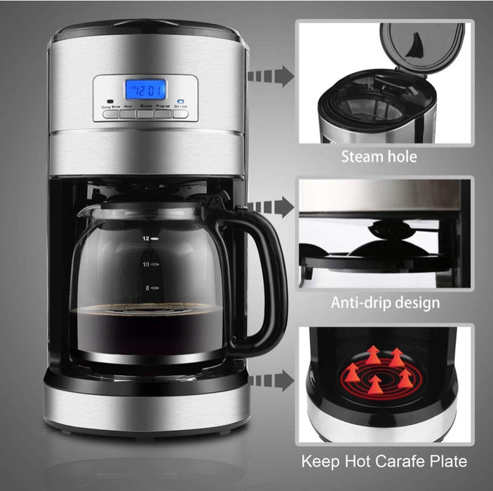 Programmable Filter Coffee Machine (Pick up Only)