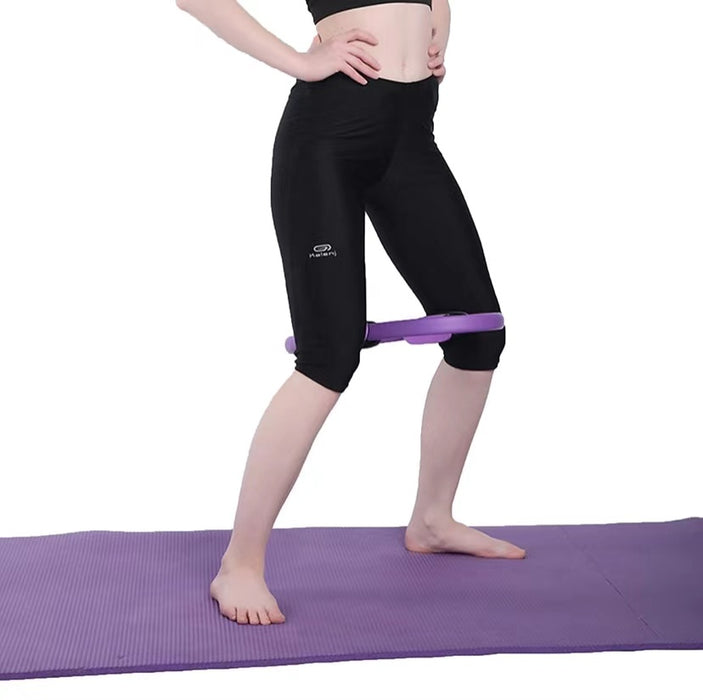Yoga Pilates Ring 14in (Purple)