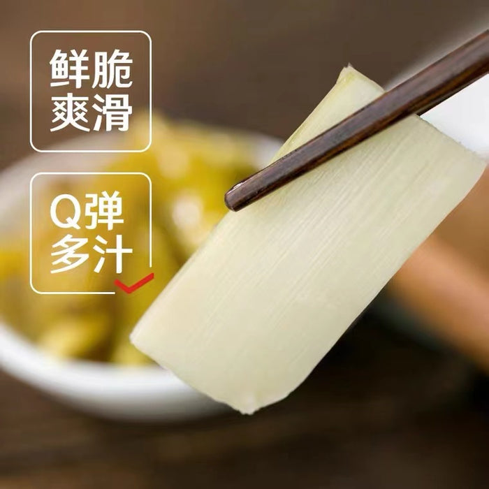 LPPZ Crispy Pickled Bamboo Shoots Slice 188g