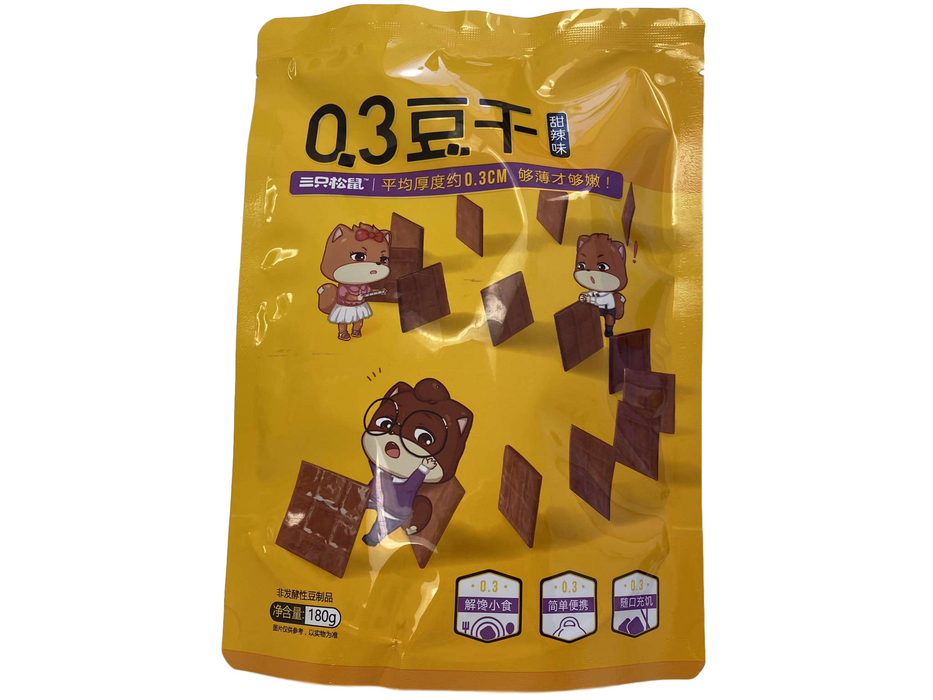THREE SQ Dried Bean Curd 180g