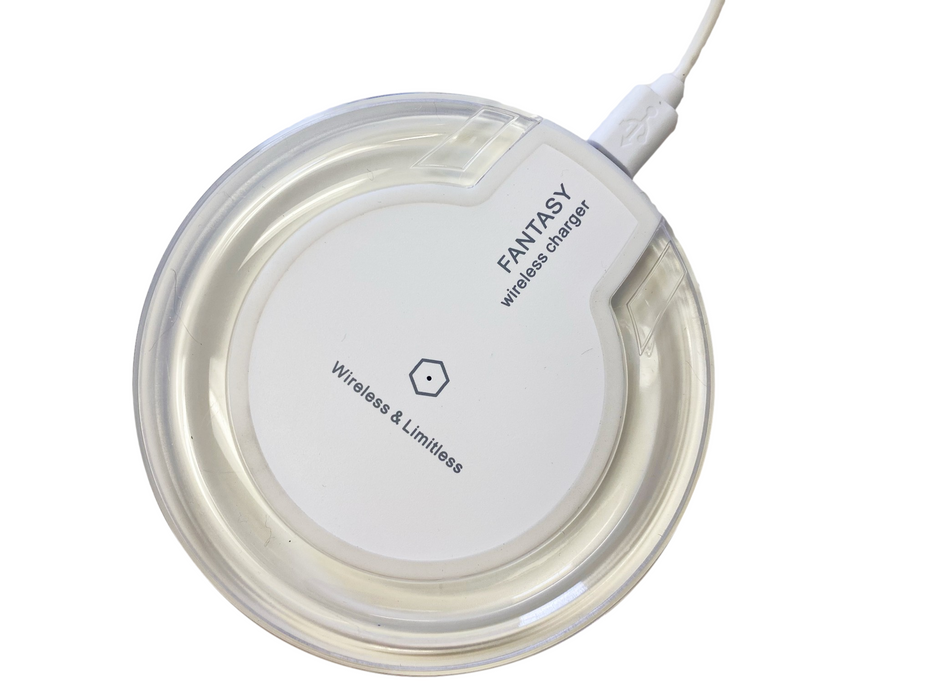 Qi Standard Wireless Charger (White)