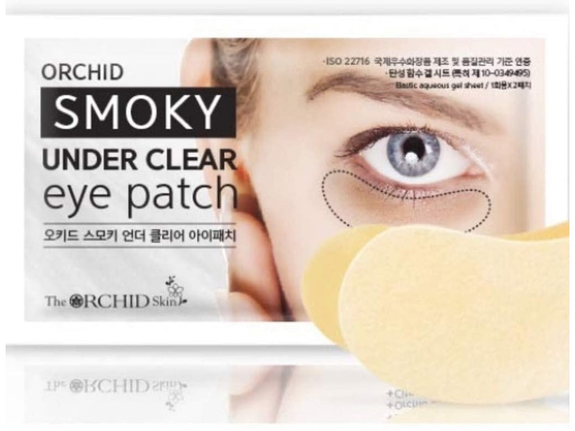 Orchid Smoky Under Clear Eye Patch 10ea
