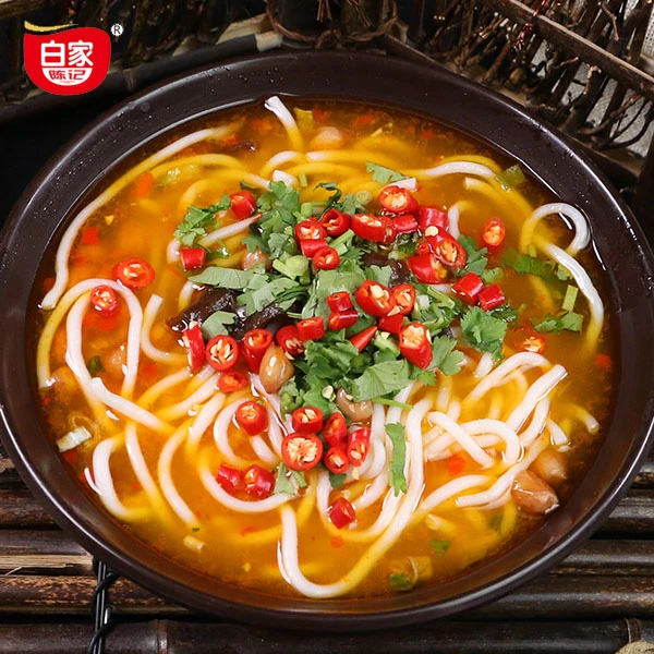 BAIJIA Soup Rice Noodle Spicy Flavor 310g