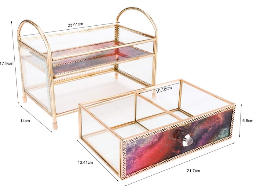 Storage/Display Case Drawer (Red)