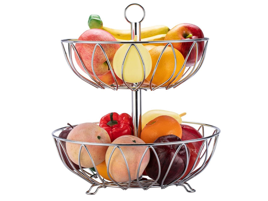 2-tiers Vegetable Fruit Basket