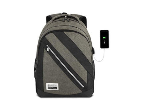 Laptop Backpack (Gray)