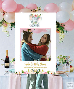 baby-shower-photo-booth-frame-elephant