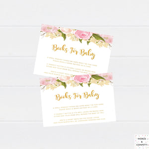 PRINTABLE Books For Baby Inserts