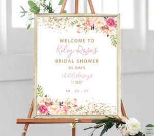 bridal-shower-decor-pink-and-gold-wordsandconfetti