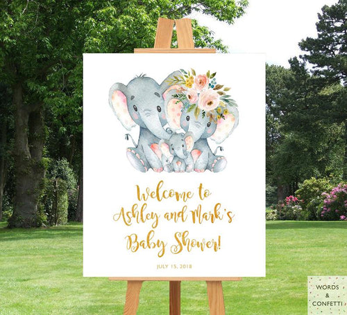 co-ed-baby-shower-decorations-elephant-words-confetti