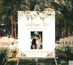 custom-engagement-party-decorations-with-photo
