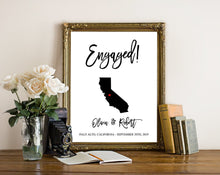 Load image into Gallery viewer, engagement-gift-for-couple-words-and-confetti-partycity