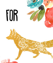 "Load image into Gallery viewer, ""For Fox Sake"" Print"