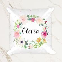 Load image into Gallery viewer, personalized-name-pillow-for-baby-words-and-confetti