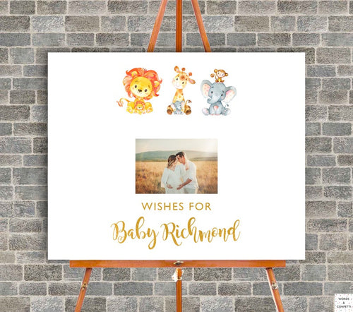 safari-baby-shower-guest-book-sign-wordsandconfetti