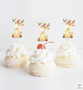 safari-giraffe-cake-toppers-wordsandconfetti