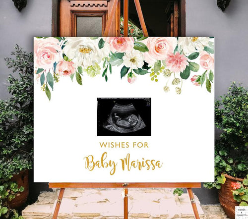 sonogram-baby-shower-guest-book-peach-wordsandconfetti