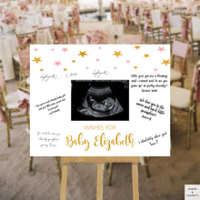 Load image into Gallery viewer, twinkle-twinkle-little-star-baby-shower-guest-book-sign-wordsandconfetti