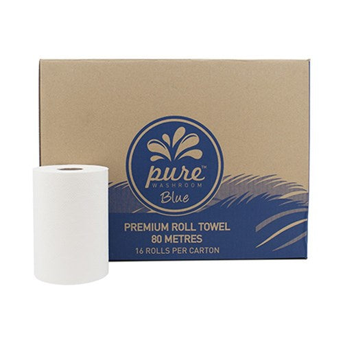 Pure Premium 80mt Roll Towel x16