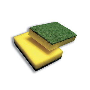 Green and Gold Sponge Scourer 10pk