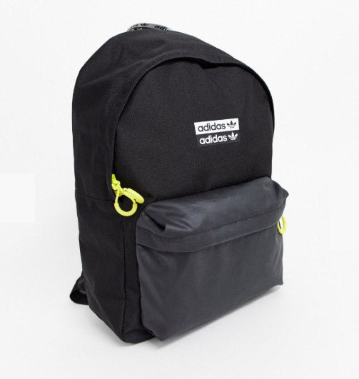 ADIDAS Originals backpack with neon