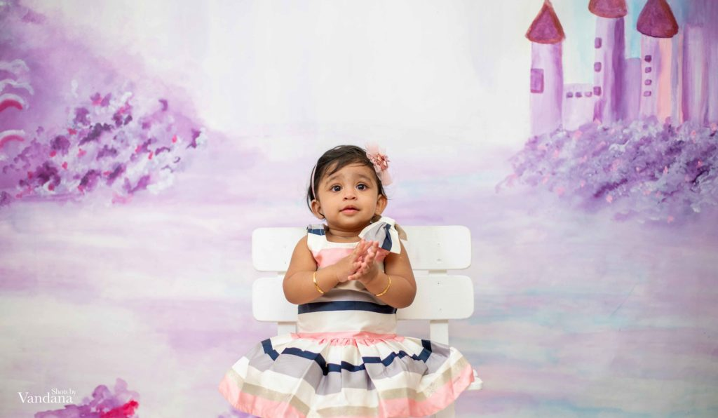 Hand Painted Castle Canvas - Baby Painted Backdrops