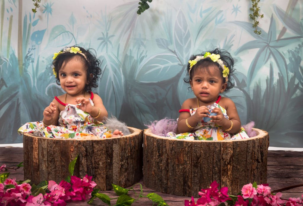 Hazy Forest - Baby Printed Backdrops
