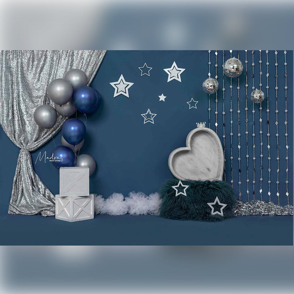 Blueberry Fantasy - Printed Backdrop - 5 by 6 feet