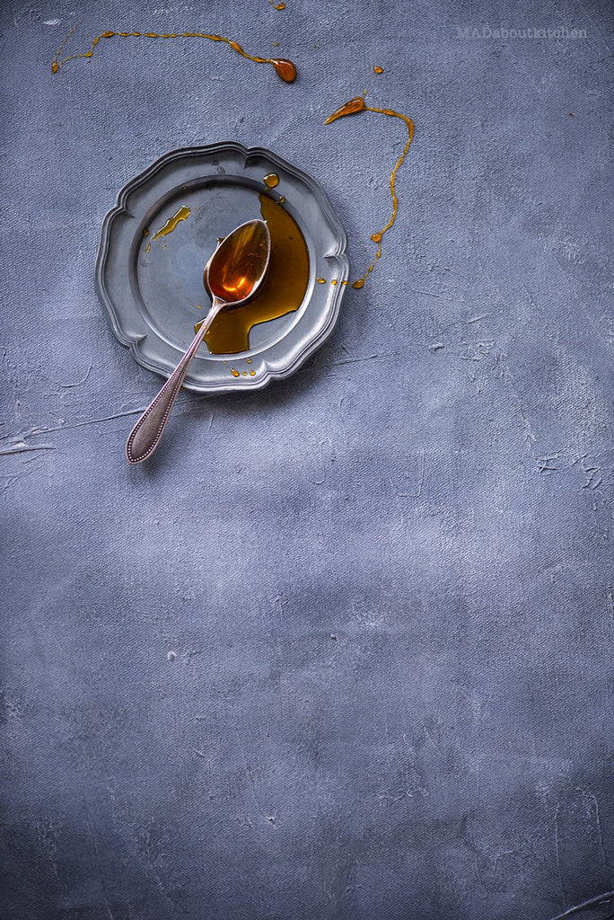 Textured Grey Canvas - Painted Food Backdrops
