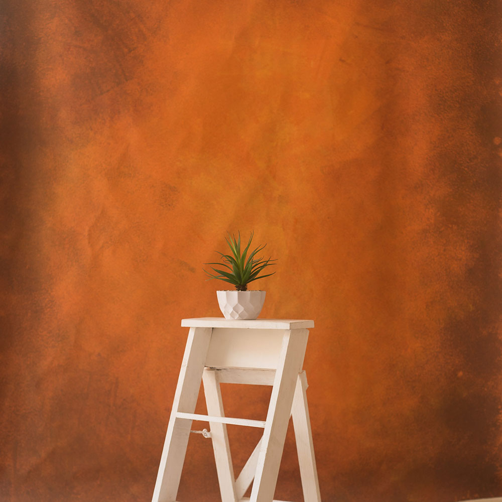 Copper Brown - Painted Fashion Backdrops