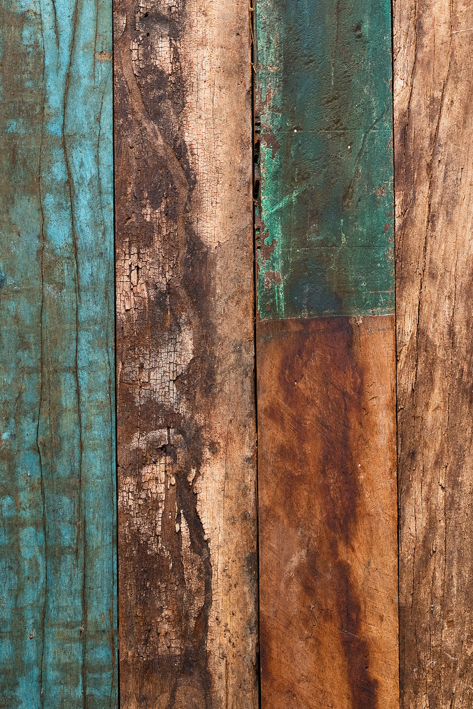 Colourful Planks - Printed Food Backdrop