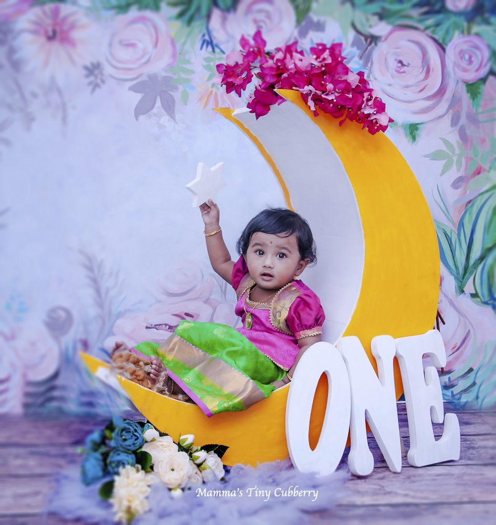 Rainbow Garden - Baby Printed Backdrops