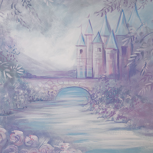 Dream Castle - Printed Backdrop - 5 by 6 feet