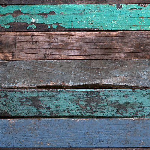 Green Rustic Tone Wood - Baby Printed Backdrops
