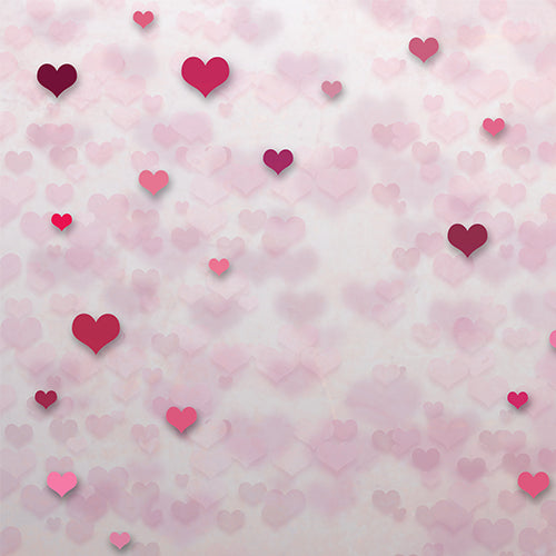 Hearts - Baby Printed Backdrops