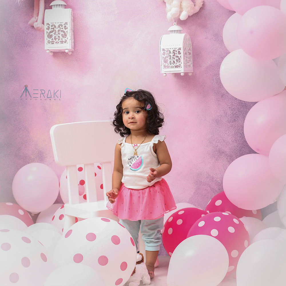 Lilac Canvas - Baby Painted Backdrops