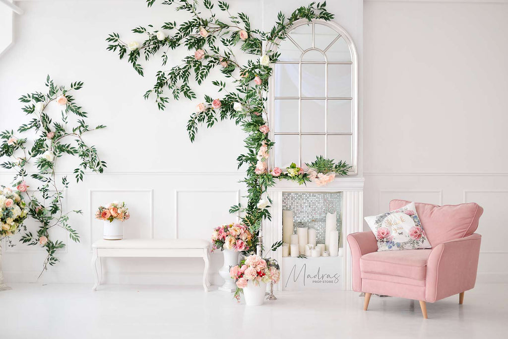 Pretty Living Room - Baby Printed Backdrops