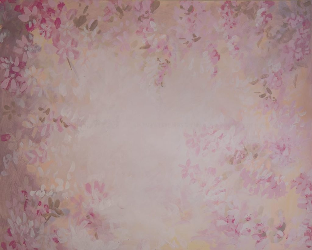 Orchid Garden - Baby Printed Backdrops