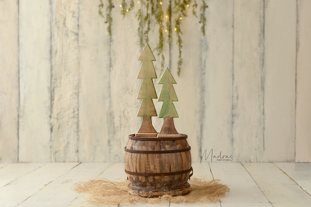 Cute Xmas Trees - set of two