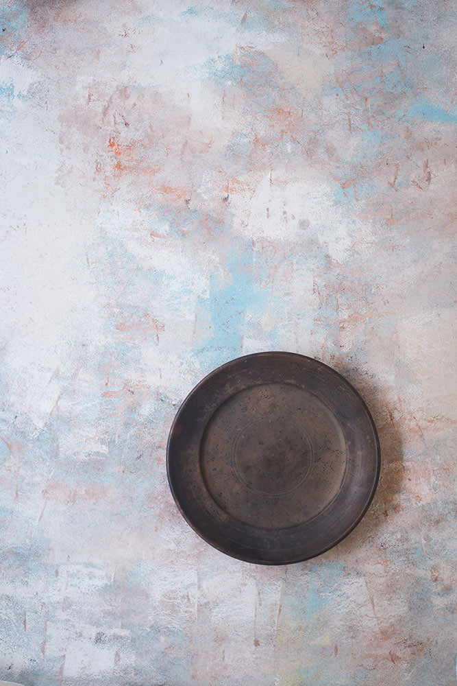 Rusted White Marble - Painted Food Backdrops