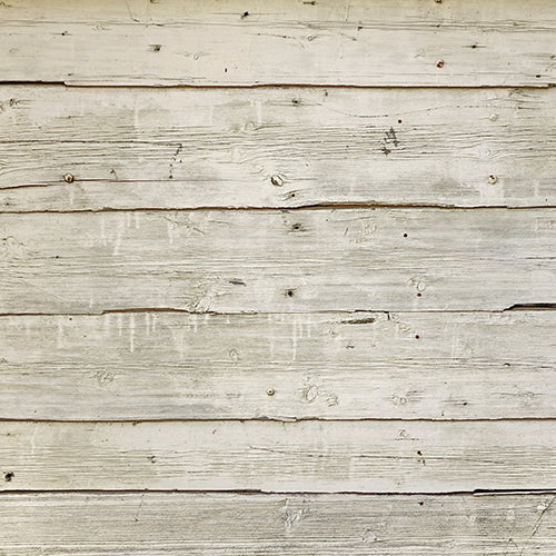 Rustic Cream Wooden Floor - Baby Printed Backdrops