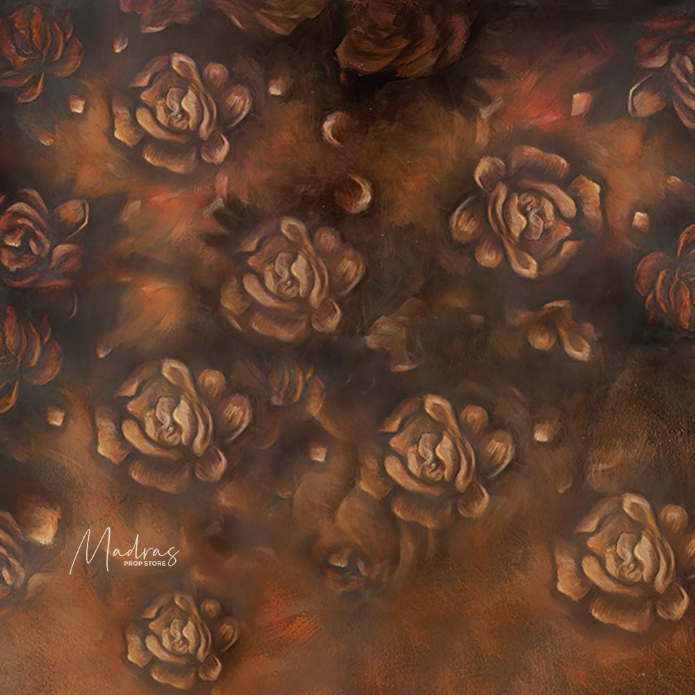 Umber Rose - Baby Printed Backdrops
