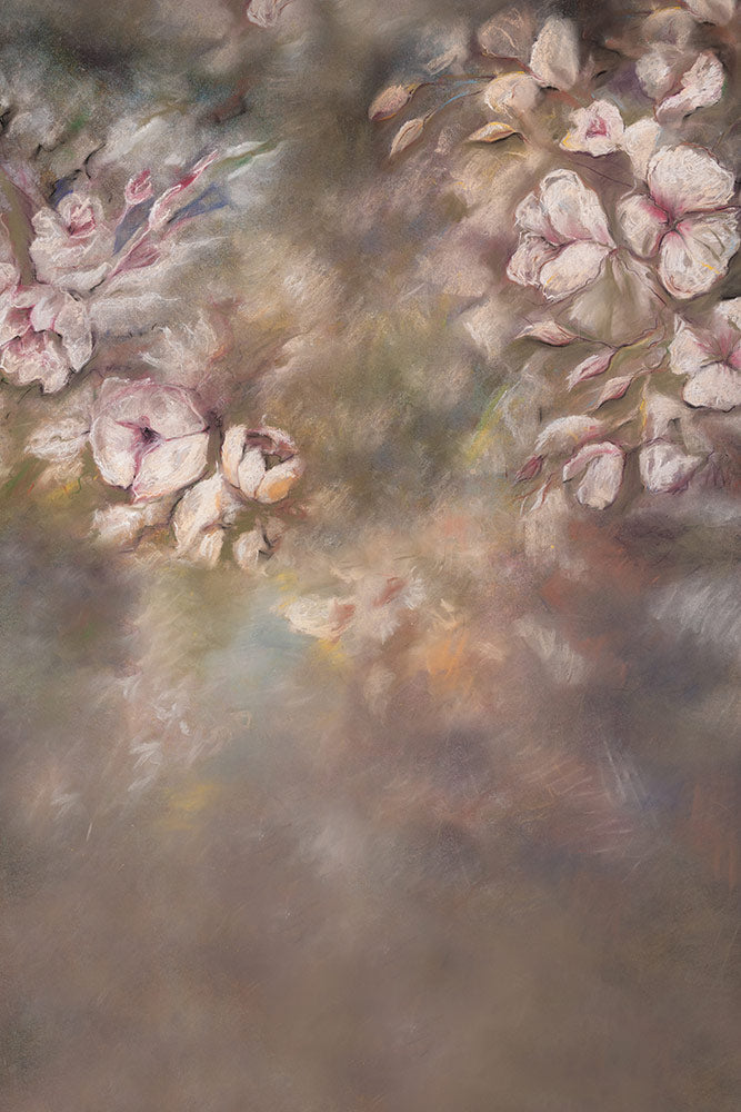 Clauren Floral - Maternity Backdrops