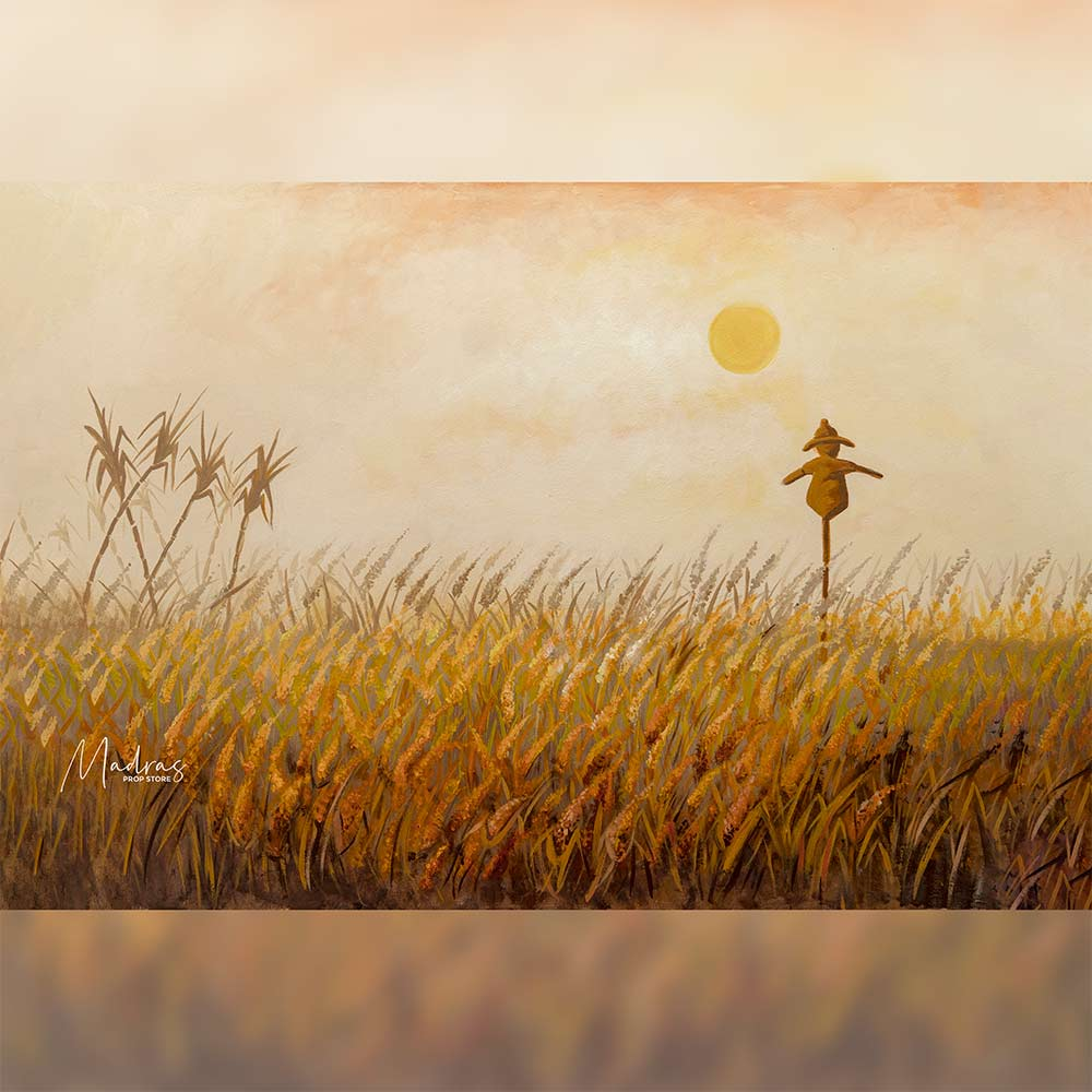 Wheat Field - Baby Printed Backdrops
