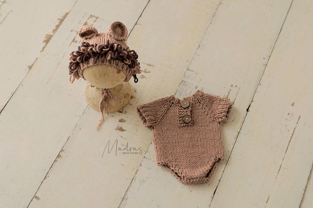 Knitted Lion Set